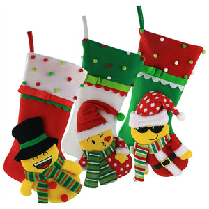 Emoji 3D Christmas Stockings