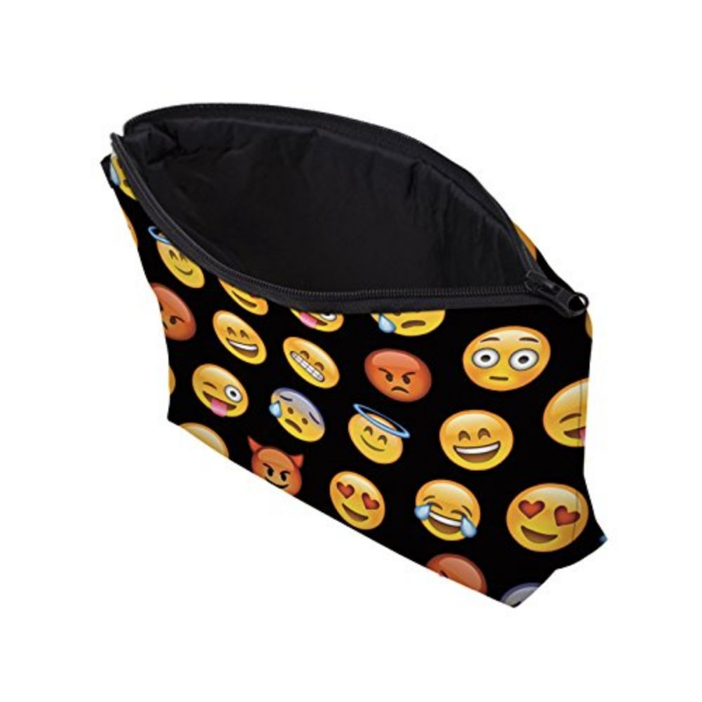 Emoji Zipper Bag