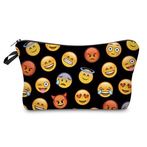 Image of Emoji Zipper Bag