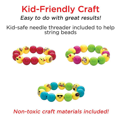 Image of Creativity for Kids Emoji Bracelets
