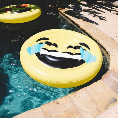 Image of LOL Emoji Pool Float