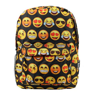 Emoji Kids School Backpack