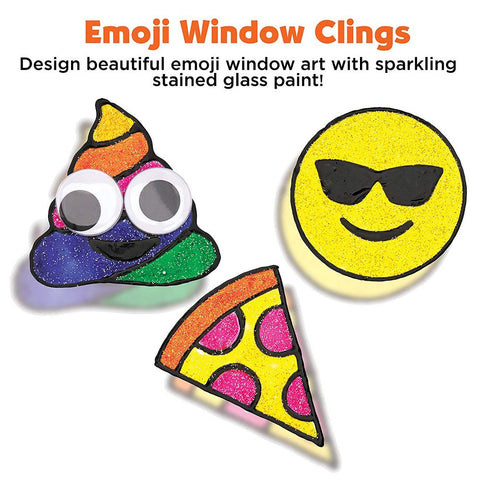 Image of Creativity for Kids Emoji Window Art