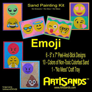 Emoji - Sand Art Kit by Artisands