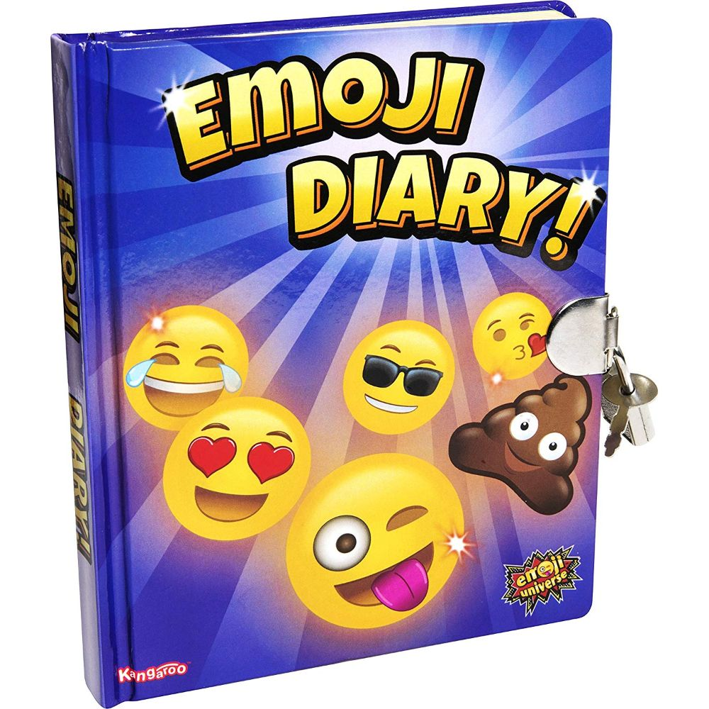 Kangaroo Emoji Universe: Emoji Diary with Lock and Keys