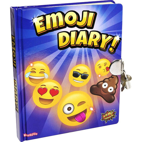 Image of Kangaroo Emoji Universe: Emoji Diary with Lock and Keys