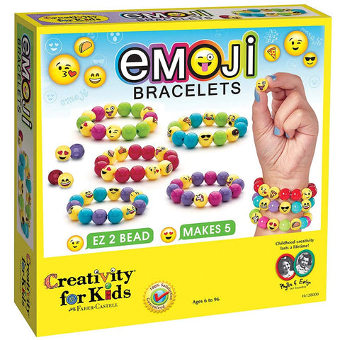 Creativity for Kids Emoji Bracelets