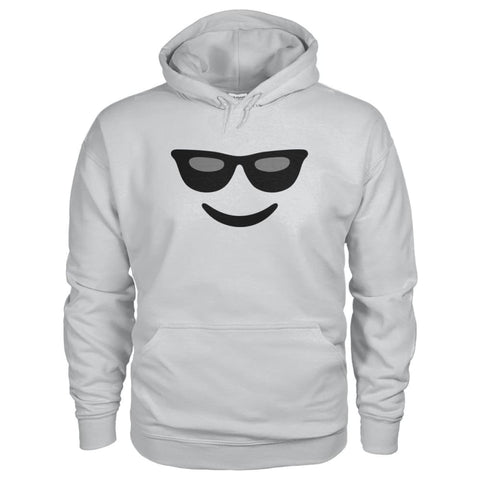 Image of Cool Face Hoodie - Ash Grey / S - Hoodies