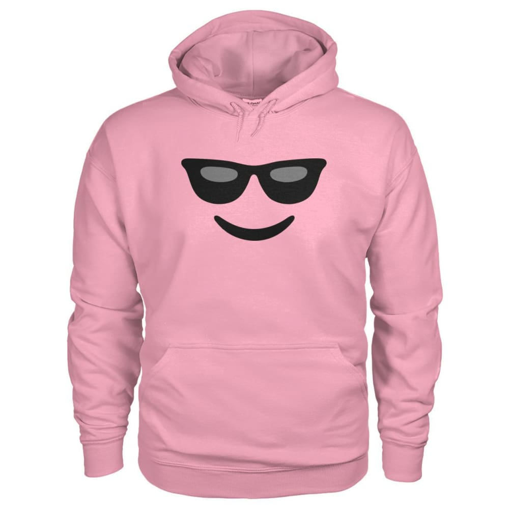 Cool Face Hoodie - Classic Pink / S - Hoodies