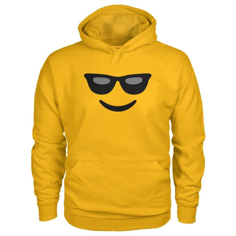 Image of Cool Face Hoodie - Gold / S - Hoodies