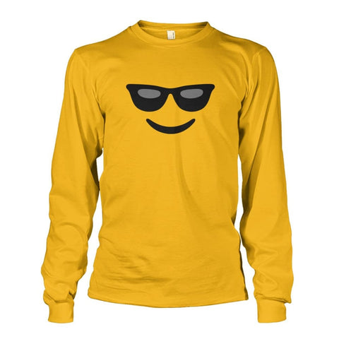 Cool Face Long Sleeve - Gold / S - Long Sleeves