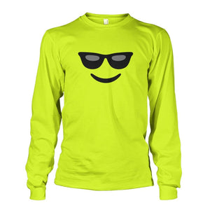 Cool Face Long Sleeve - Safety Green / S - Long Sleeves