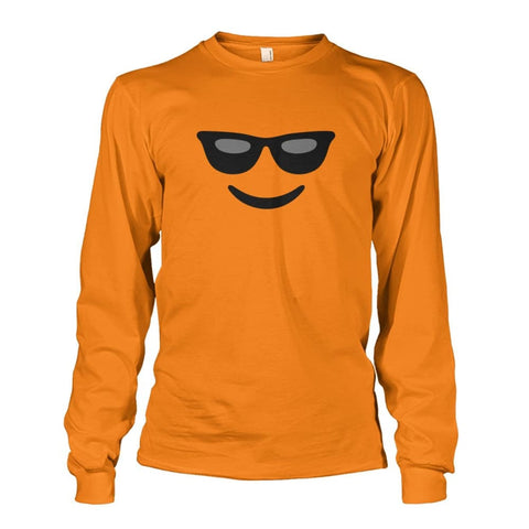 Image of Cool Face Long Sleeve - Safety Orange / S - Long Sleeves