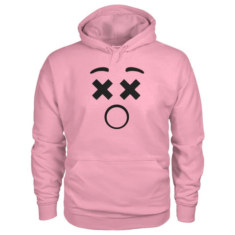 Image of Dizzy Face Hoodie - Classic Pink / S - Hoodies