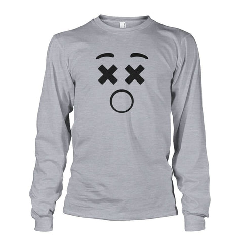 Image of Dizzy Face Long Sleeve - Sports Grey / S - Long Sleeves