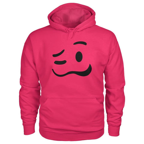 Image of Drunk Face Hoodie - Heliconia / S - Hoodies