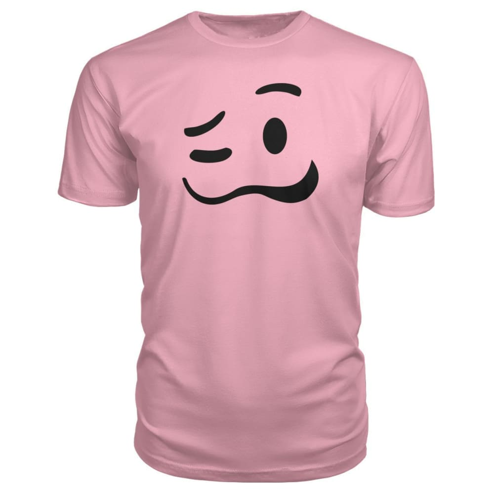 Drunk Face Premium Tee - Charity Pink / S - Short Sleeves