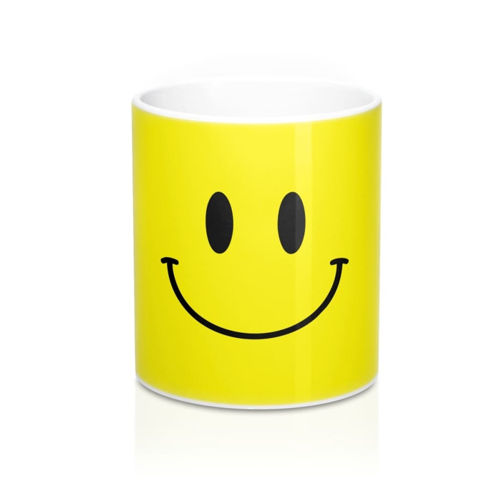 Happy Emoji Face Mug - 11oz - Mug