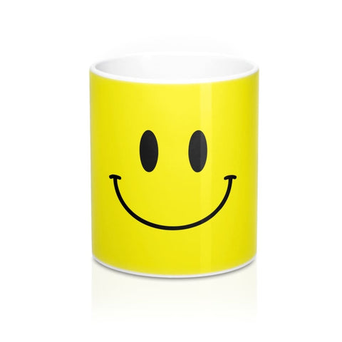 Image of Happy Emoji Face Mug - 11oz - Mug