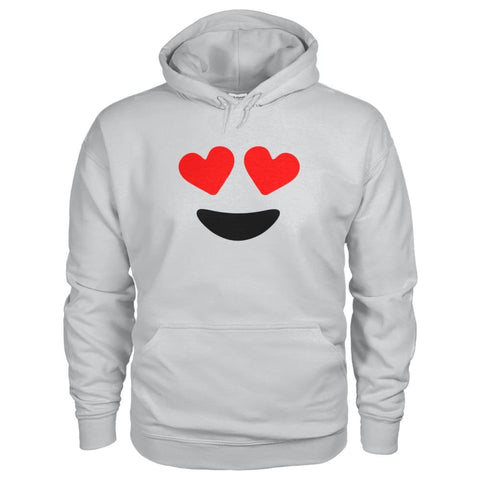 Image of Heart Eyes Hoodie - Ash Grey / S - Hoodies