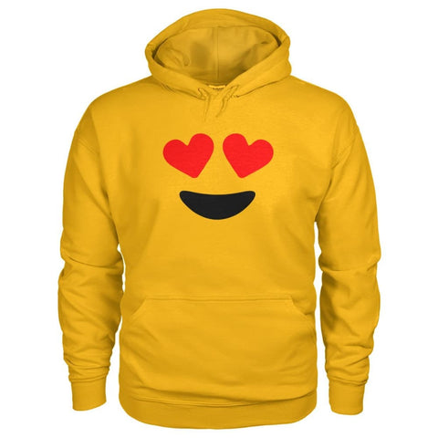 Image of Heart Eyes Hoodie - Gold / S - Hoodies