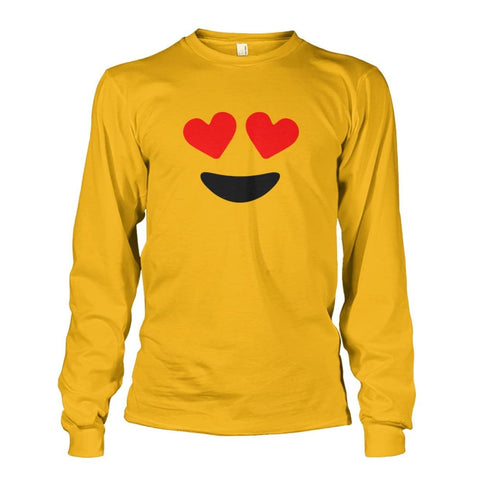 Image of Heart Eyes Long Sleeve - Gold / S - Long Sleeves