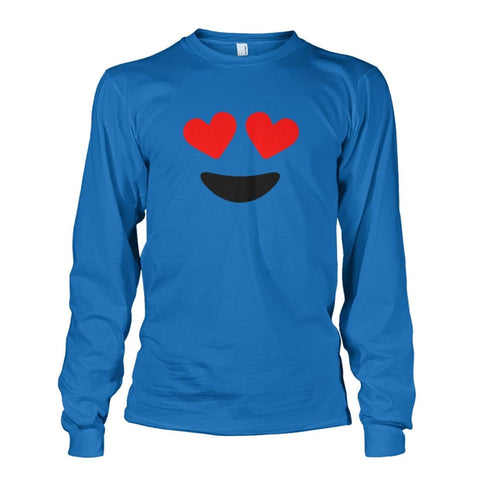 Image of Heart Eyes Long Sleeve - Sapphire / S - Long Sleeves