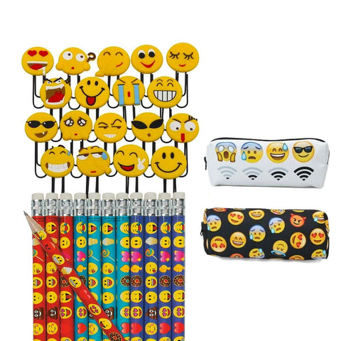 Image of Pencils Pencil Pouch And Paperclips Bundle