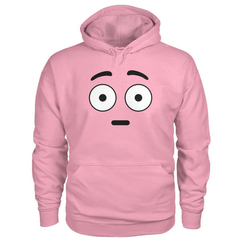 Image of Shocked Face Hoodie - Classic Pink / S - Hoodies