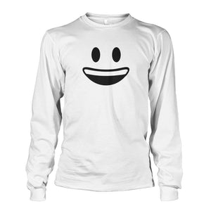 Smiley Face With teeth Long Sleeve