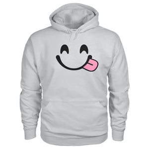 Smiley Face With Tongue Hoodie