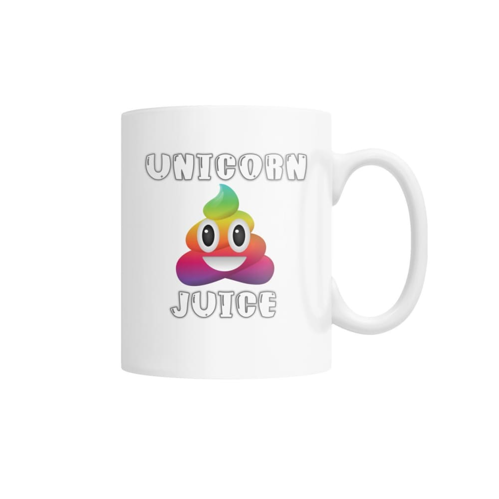 Unicorn Poop Juice Emoji Mug - Drinkware