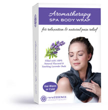 Load image into Gallery viewer, Lavender Spa Warming Body Wrap