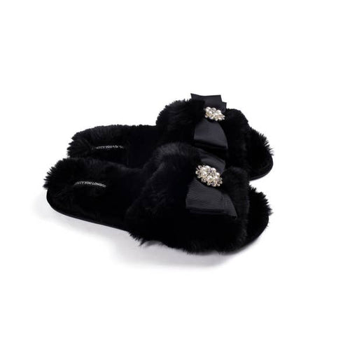 Anya Slippers - Black