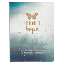 Load image into Gallery viewer, Hold on to Hope A Daily Devotional By Jimi Le Roux - Gifts for People Battling Cancer