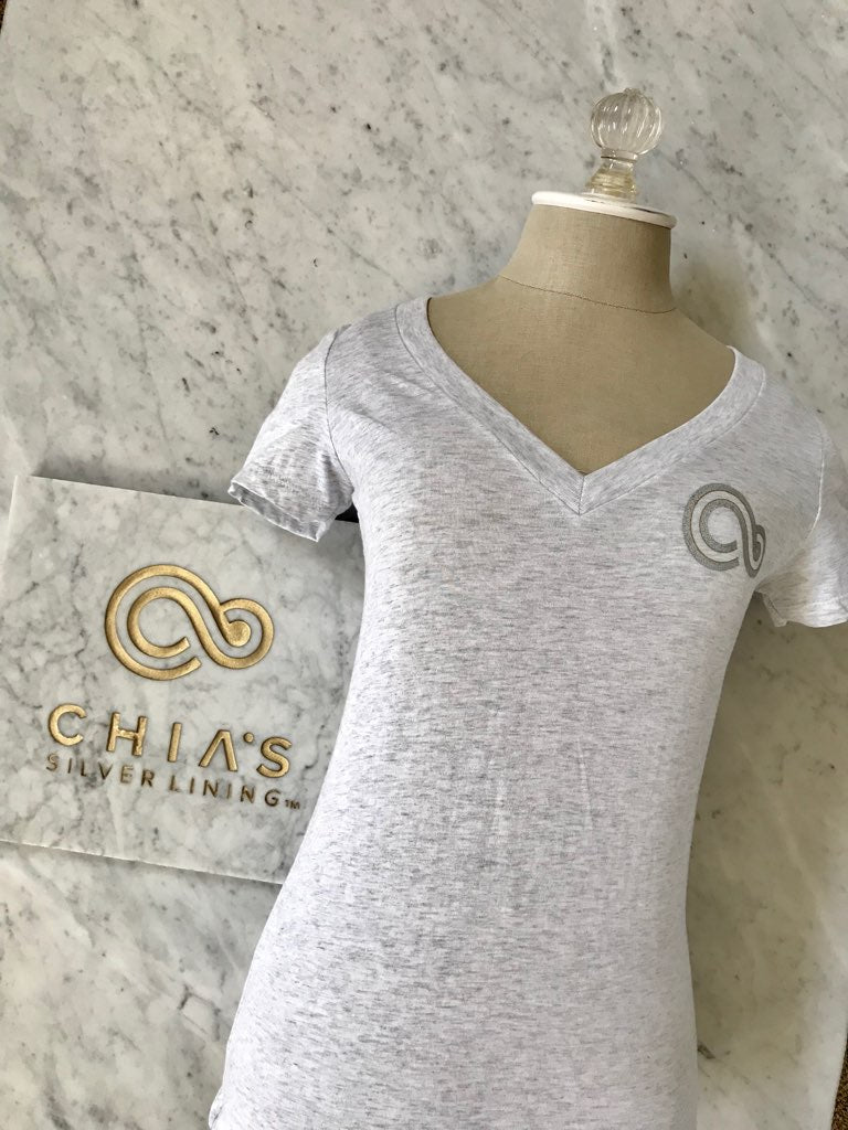 Chias Silver Lining T- Shirt - Cancer Gift Bags