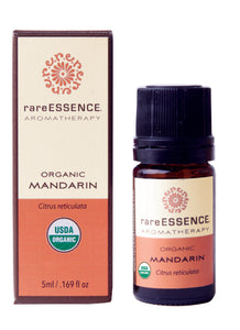 Organic Mandarin Orange Essential Oil - Gifts for Cancer Patients