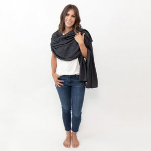 Organic Cotton Dream Soft Travel Scarf or Head Wrap