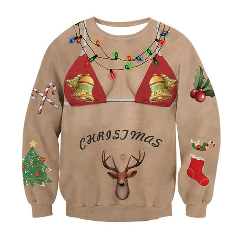 Man Belly Ugly Christmas Sweater The Ultimate Shop For The Worlds