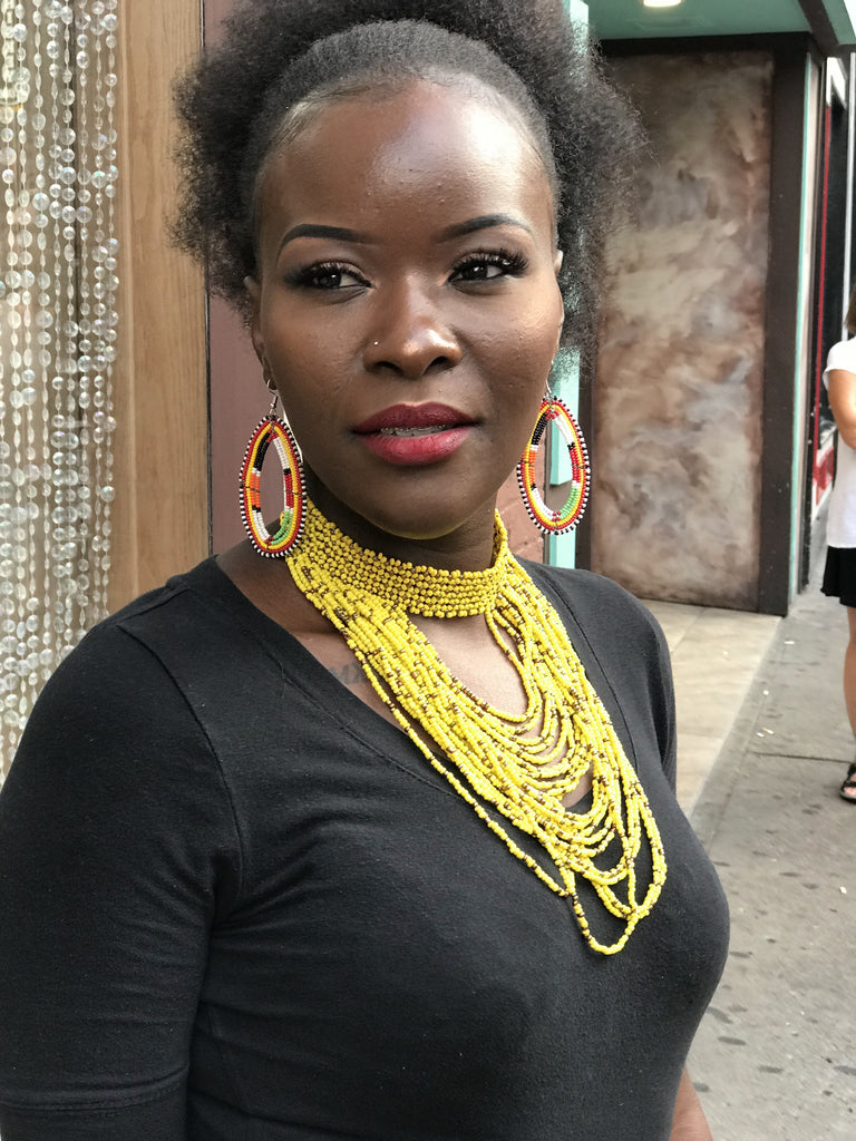 The Ukweli Kenyan Beaded Necklace