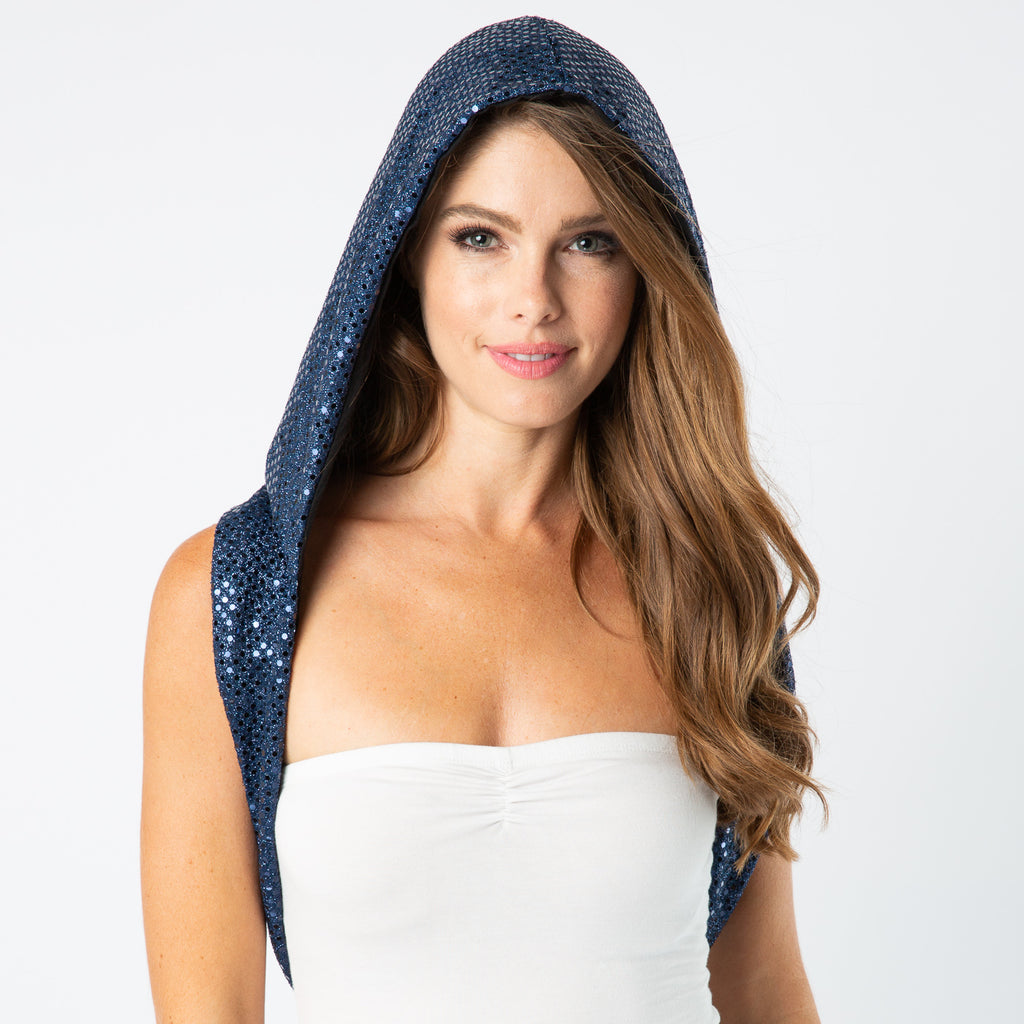 Festival Fashion Blue Hood