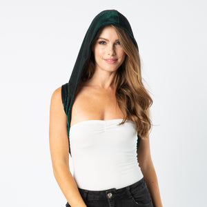 Festival Fashion Green Hood