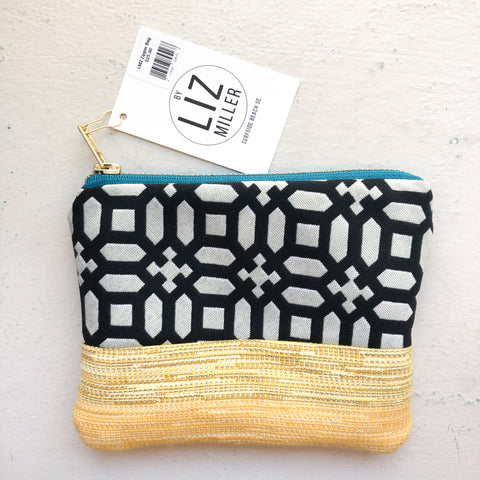 By Liz Miller | Black Geo Shapes & Yellow Texture  | *$25