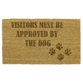 Personalised Paws Doormat Large