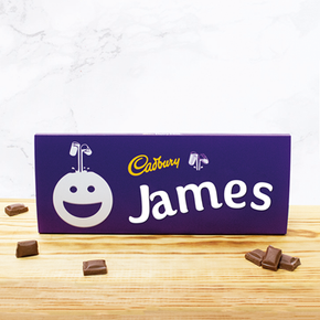 Personalised Cadburys Chocolate Bar With Face