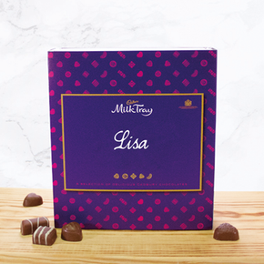 Personalised Cadbury Milk Tray