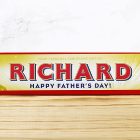 Father's Day Edition Toblerone Bar