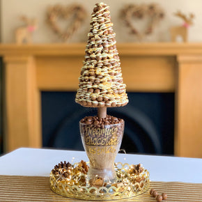 Malteser Christmas Sweet Tree- White Chocolate