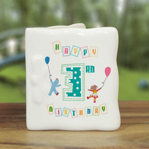 In The Night Garden Birthday Message Card