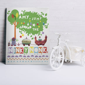 Ninky Nonk Canvas- In The Night Garden